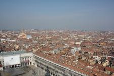 День в Венеции. Вид со смотровой площадки кампаниллы Сан Марко