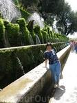 Аллея фонтанов в Тиволи