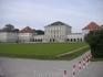 Нимфенбург. Парковый фасад дворца