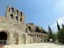 Мы спустились с Акрополя, так выглядит Одеон снаружи.