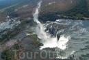 Величественные водопады Игуасу в Южной Америке