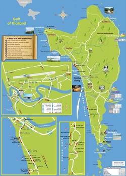 Карта Фукуока с отелями
