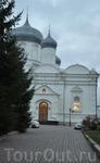 Покровский собор Зверина монастыря.