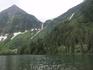 Кинзелюкский водопад и нижнее Кинзелюкское озеро