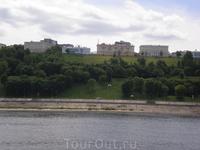 Вид на Нижний Новгород с теплохода