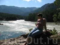 Слияние двух рек- Чемал и Катунь