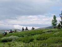 Конный поход по Теректинскому хребту