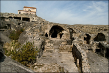 Начиная с 337 года, между христианами и Уплисцихе разразилась самая настоящая война. Всё закончилось тем, что святые люди – жрецы и жители священного города – скалы были выгнаны со своих насиженных м