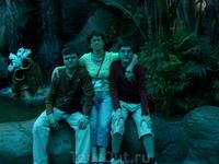 Моя семья. В океанариуме.