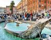 Фотография Фонтан Баркачча на площади Испании в Риме