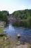 Воды Суны и бывший когда-то величественным водопад...
