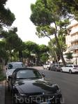 улица в Милано-Мариттима