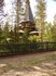 Церковь Казанской Божьей Матери. Теперь стало широкоизвестным местом. И над когда-то скромной могилой Серафима Вырицкого давно уже часовня.