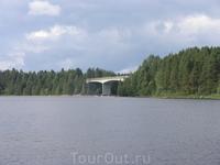 по пути в отель Hotel Pielinen
