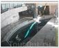 Основную центральную часть здания гидролаборатории занимает цилиндрический резервуар (диаметр 23 метра, высота 12 м, ёмкость 5000 т), заполненный водой ...