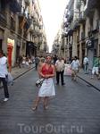 Улицы центра Барселоны - за мной Готический квартал