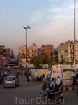 Дома простых индийцев такие же как и в наших городах.