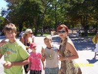 Севастополь.Парк радом с Морским музеем
