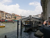 Венеция. Гранд - Канал. Мост Реальто