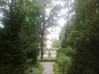 Мельк. В саду монастыря.