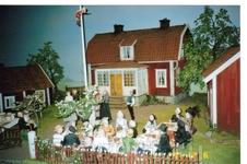 В музее сказок Астрид Линдгрен. Снято прямо из вагончика.