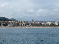 Путешествие на кораблике из Калельи в Тоссу де Мар и обратно. Калелья