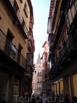 Толедо. Улица Комерсио. Вид на Кафедральный собор