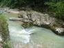 Гуамское ущелье. Река которая была то тихой и настолько порывистой, что пугала своей силой.