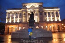 памятник Копернику. Варшава