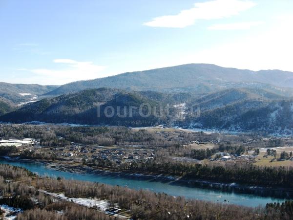 Долина реки Катунь