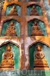 стена храма Моря Мудрости (Zhihuihai)