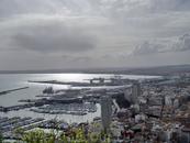 Вид на порт Аликанте.