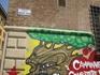 стрит арт в районе университета