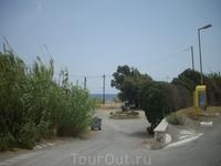 дорога на местный пляж, Фалираки