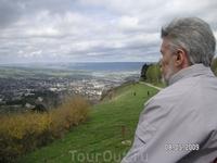 вид на Кисловодск с горы