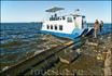 Наше экскурсионное судно. Подход к острову на более крупных судах затруднён так как остатки форта лежат на небольшой глубине и судну с глубокой осадкой ...