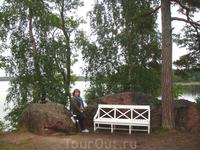 Скамьи для посетителей парка
