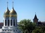 Кафедральный собор Калининграда. Вид из номера гостиницы