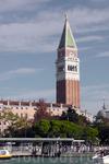 Вот и Кампанилла - она же колокольня базилики Сан Марко.