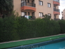 а вот и наш балкончик (где вещи есть), на след. утро мы их вылавливали в бассейне (ветром унесло) )))