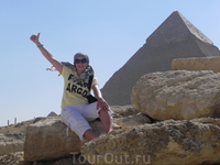 Я на фоне пирамиды