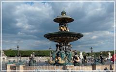 фонтан на площади Согласия