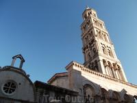 Колокольня собора - символ Сплита