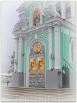 Парадные врата Троицкого храма.