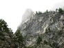 Гора в ущелье Чектыш(или Чиктыш)
