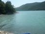 Название озера «Абрау» в переводе с черкесского означает «обрыв», в нескольких километрах от озера, за перевалом протекает речка Дюрсо, она питается четырьмя ...