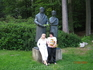 Марианка 2009г. Мы с Людмилой из Израиля в лесу рядом с отелем