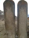 языческое место с древними знаками в Куртатинском ущелье