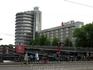 Амстердам. Впечатляющая стоянка для велосипедов.