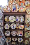 Португальские hand - made тарелки.